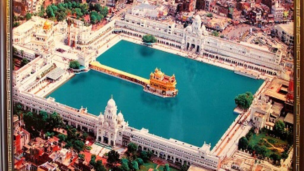 top view of golden temple latest images for download